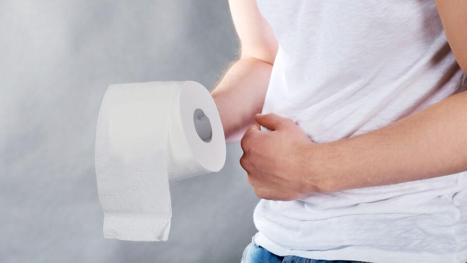 Klopapier Darm - Chronischer Durchfall sollte ärztlich abgeklärt werden. - © Shutterstock