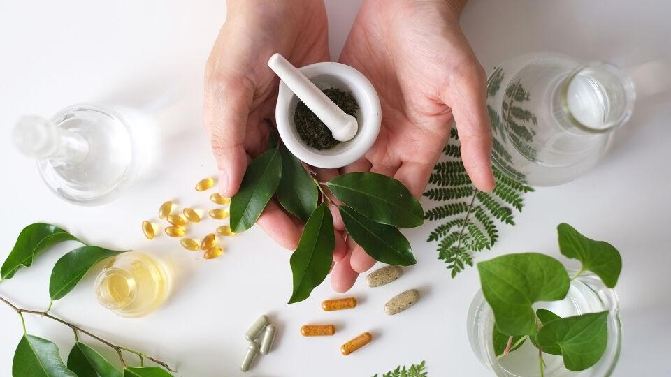 Heilkpflanzen allgemein - Ihr Apotheker hält eine Reihe von Kräutern in verschiedensten Zubereitungen bereit, die bei Problemen mit dem Darm hilfreich sein können. - © Shutterstock
