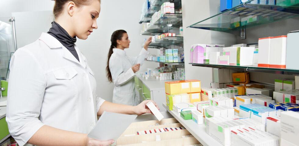 Apotheke Bestand Inventur Medikamente - © Shutterstock