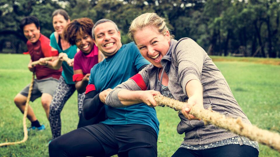 Wettkampf Positiver Stress - © Shutterstock