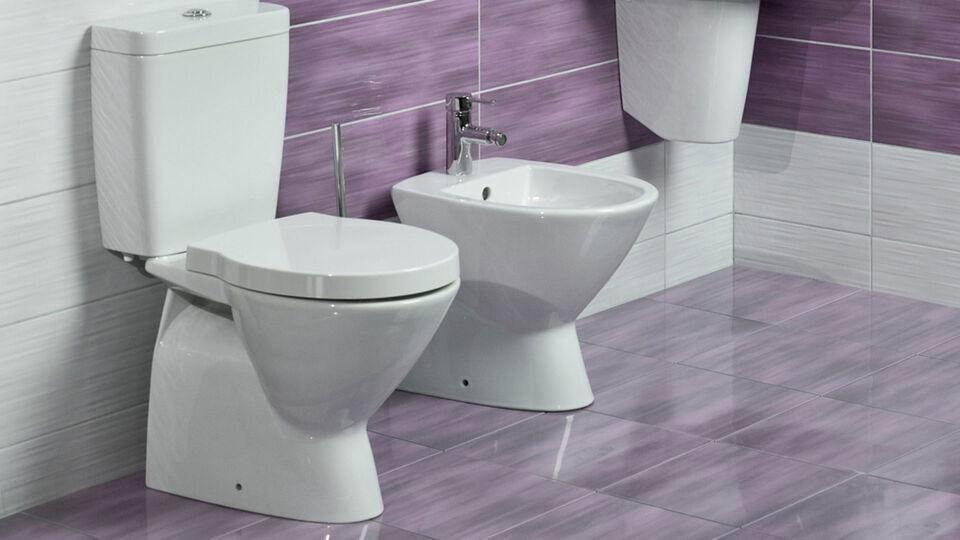 Klo und Bidet - Ein Bidet ermöglicht die sanfte Reinigung der Analregion mit Wasser. - © Shutterstock