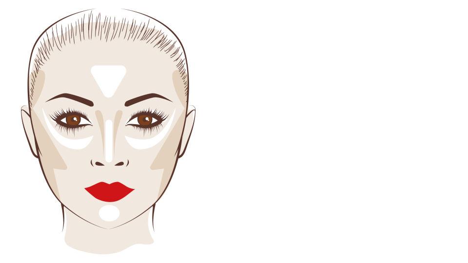 Kosmetik Contouring rdf - © Shutterstock